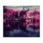 Kayak on acid by cameraflou