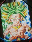 Goku e Broly Dragon Ball Fusions