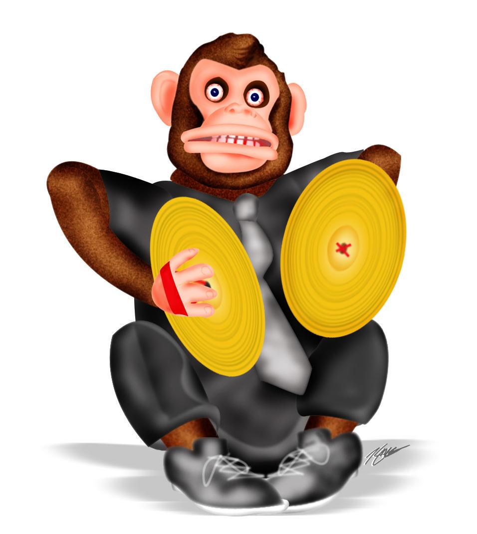 Cymbal Monkey By Skavinj On Deviantart