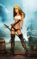 Pirate Babe Final by ApplePlus
