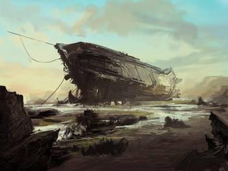 Speedpaint Boat by ApplePlus