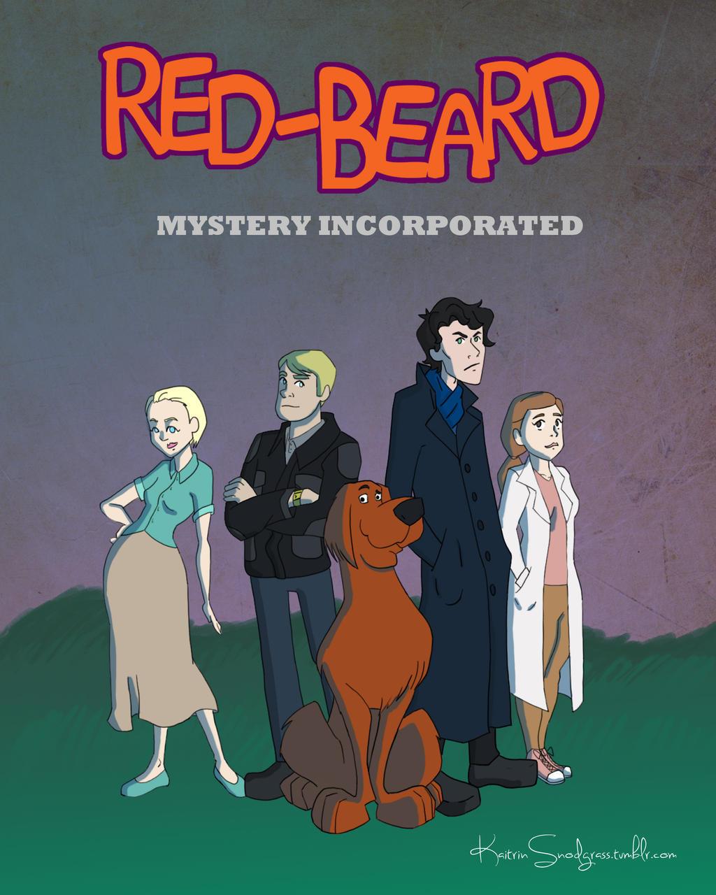 Redbeard Mystery Inc by KaitrinSnodgrass