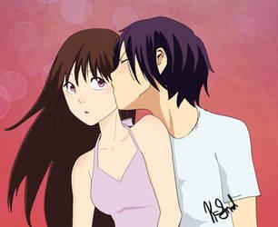 YATORI KISS by KaitrinSnodgrass