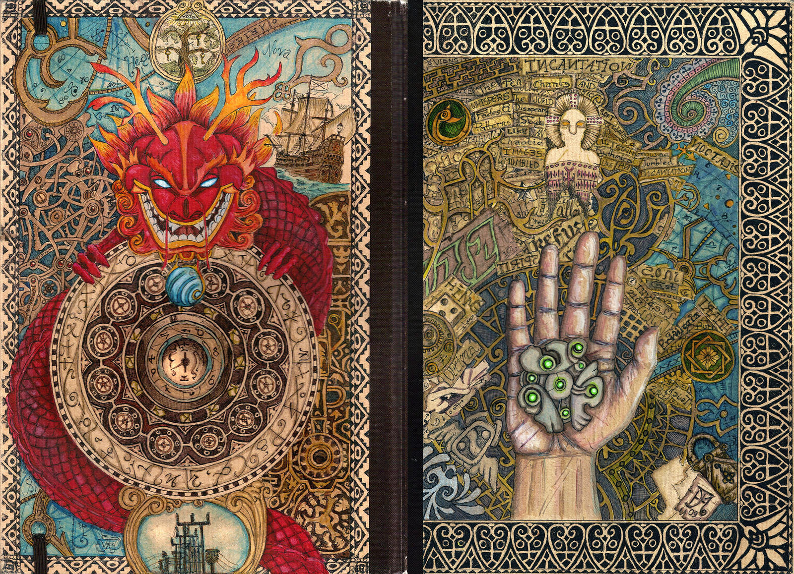 Book Cover Art Ideas ~ Sketch book cover revised by pixini on deviantart