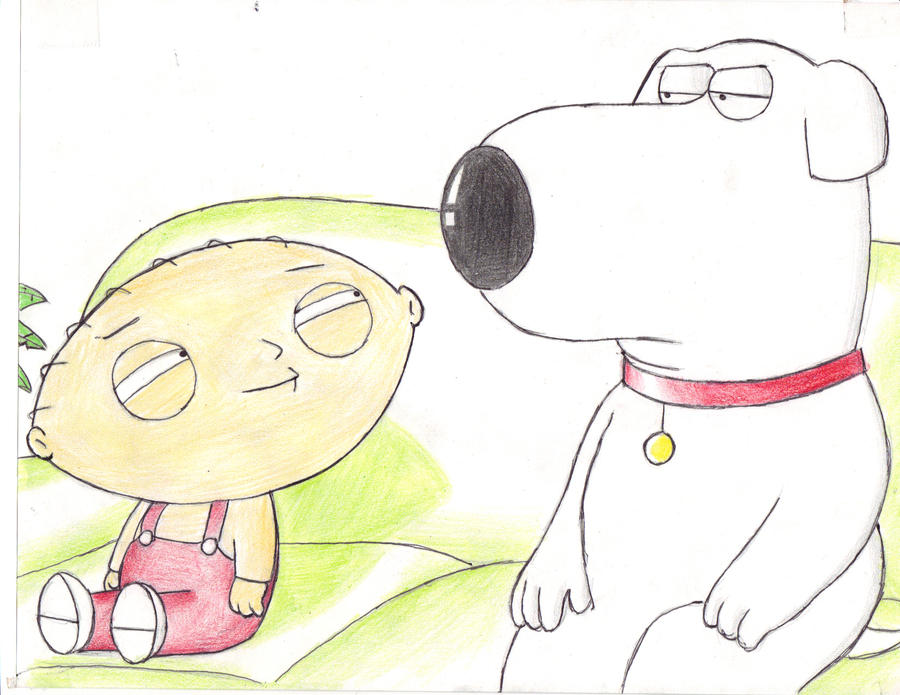Brian and Stewie by Jakerismitology
