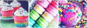 [Divider] Rainbow Sweets