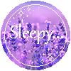 [Button] Sleepy...