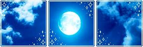 [Divider] Nighttime Sky