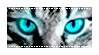 [Stamp] Blue Cat Eyes by AestheticallyLithi