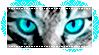 [Stamp] Blue Cat Eyes