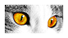 [Stamp] Amber Cat Eyes by AestheticallyLithi