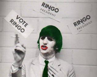 Ringo Starr as The Joker