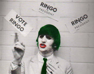 Ringo Starr as The Joker