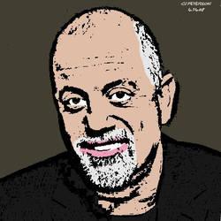 Billy Joel cartoon