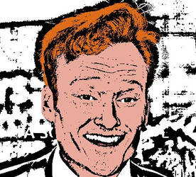 Conan O'Brien cartoon