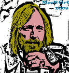 Tom Petty cartoon