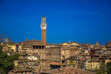 Siena cityscape by fedewolf