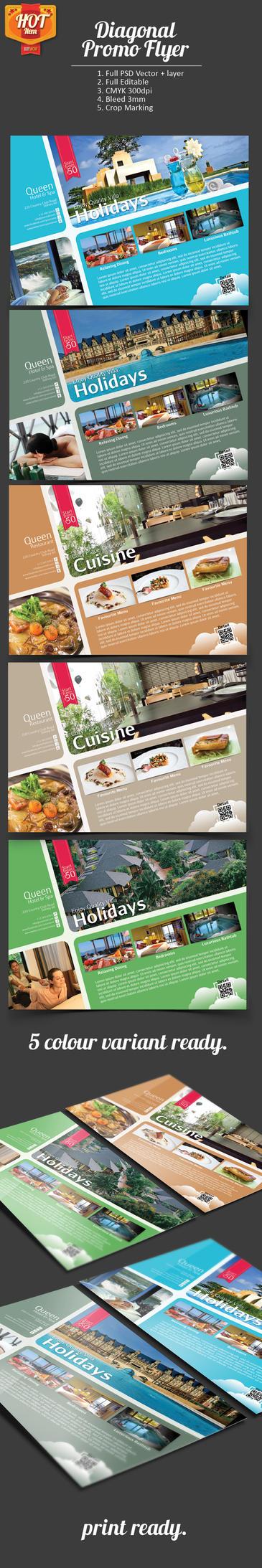 Beautiful Flyer Layout by samsulsekawan
