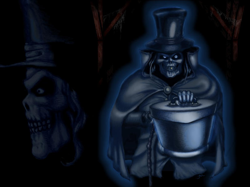 Hatbox Ghost Focus Wallpaper by Captain-Halfbeard