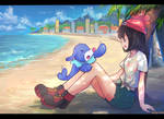 Pokemon Sun Moon Protagonis