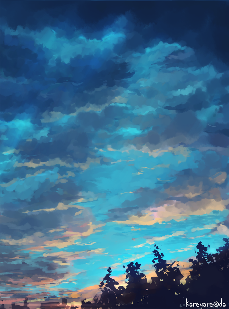 Background Practice 06 by kareyare