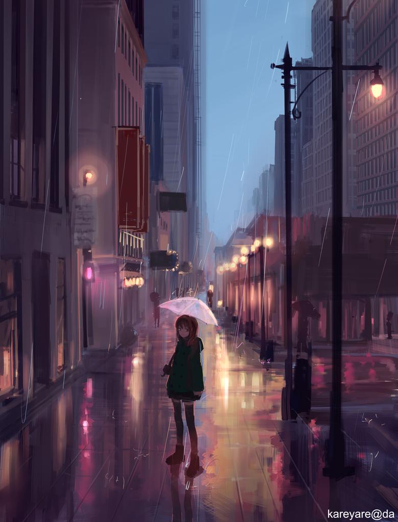 November Rain by kareyare
