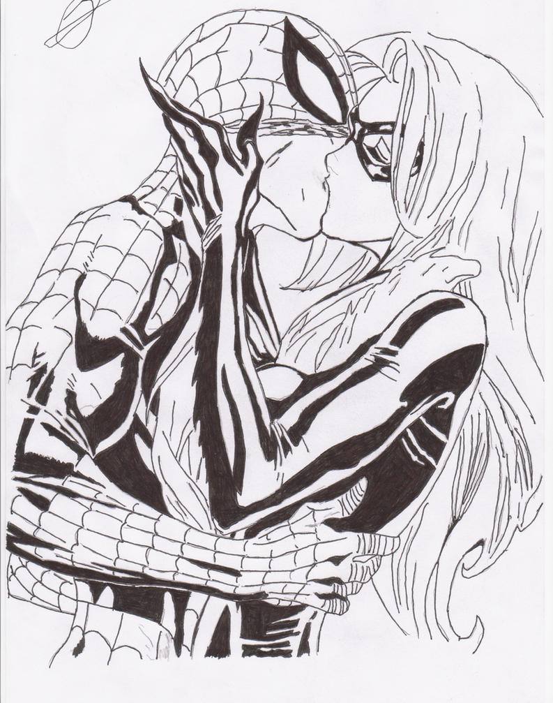 Spiderman Loves Black Cat Spiderman And Black Cat by