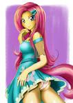 Fluttershy - My little pony (MLP) by sakamotoKuuuun