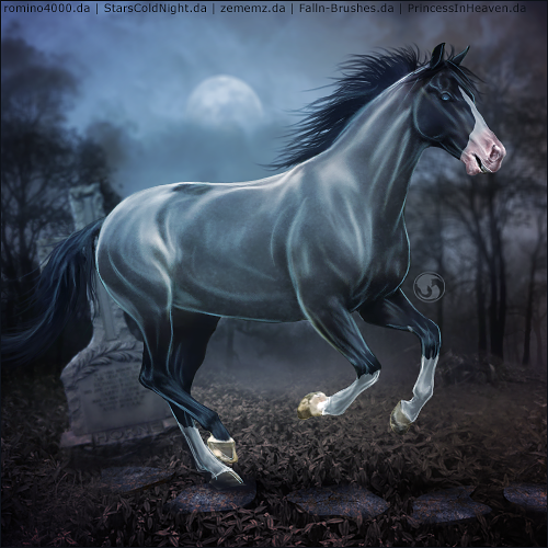 HEE Horse Avatar - Dead Man's Theory by art-equine