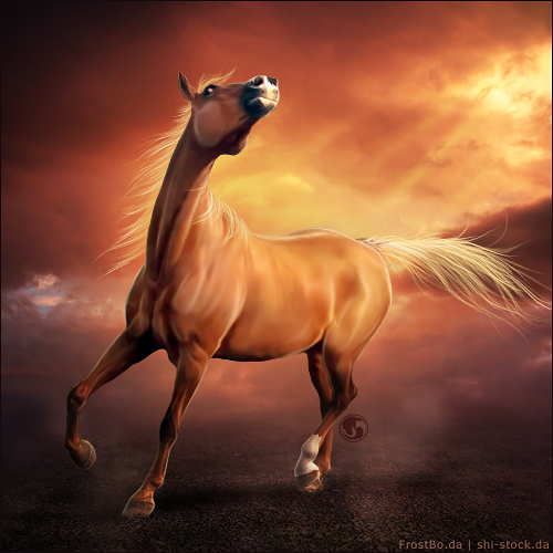 HEE Horse Avatar - Artful by art-equine