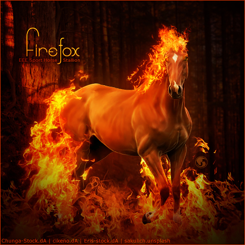 HEE Horse Avatar - Firefox by Art-Equine