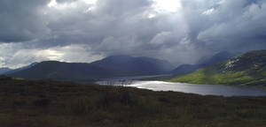 Sunlit Scotland by sags
