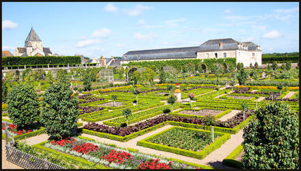 Vegetable Garden, Chateau Villandry by sags