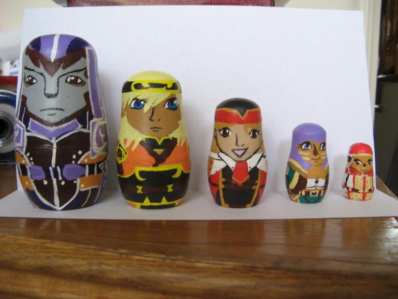 FFXI Russian Nesting Dolls