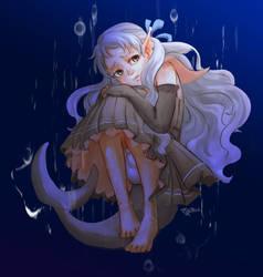 LN: Little Shark in Her Deep Blue Sea
