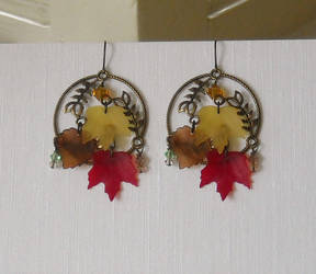 Autumn Earrings 2010