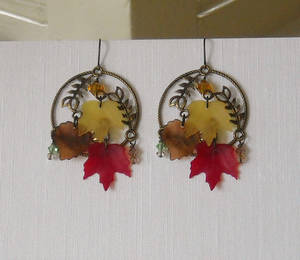 Autumn Earrings 2010