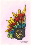 Half Mask by theumbrella - colored