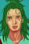 WIP Green haired guy. :B