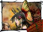 +Butterfly Woman+