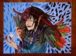 Tengu - Watercolors