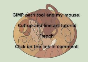 Gimp path tool