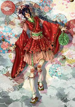 Oriental clown