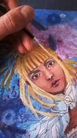 WIP - Blond dreadlocks