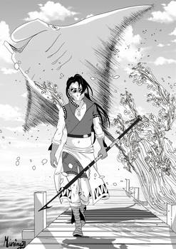 Manta Ray Surfer