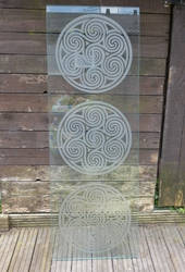 Etched Glass Panel ( image 2 ) by Robohippyv2