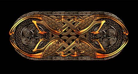 Celtic Knotwork Birds by Robohippyv2