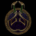Two Celtic Knotwork Birds by Robohippyv2