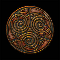 Celtic Knotwork Trispiral 2 by Robohippyv2