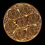 Celtic Knotwork Spiral Group by Robohippyv2